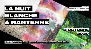 Nuit Blanche : and if earth was in the center ?